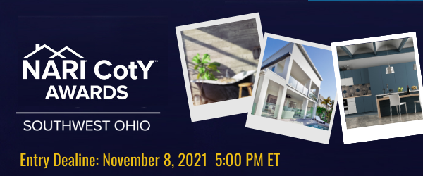 NARI of Southwest Ohio Now Accepting Entries for the CotY Awards!